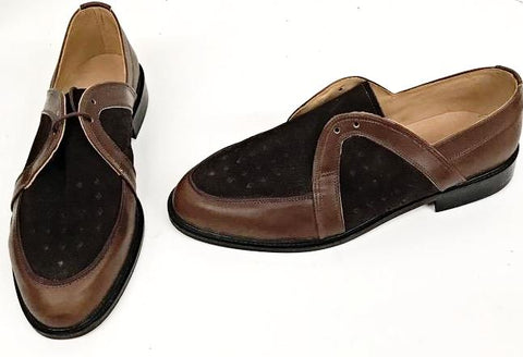 Swingkings Brown Leather and Suede IN STOCK NOW