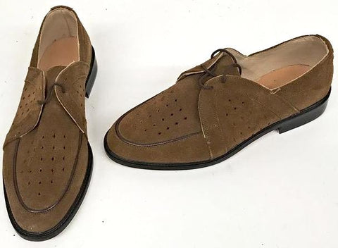 Swingkings Brown Suede IN STOCK NOW size 6 ½