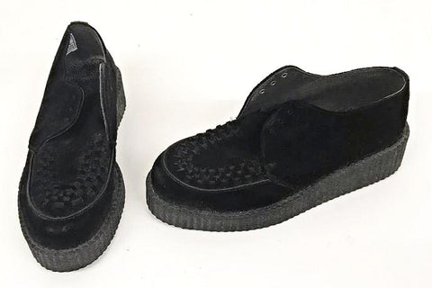 Creeper Black Suede Lace Fastenning  IN STOCK NOW size 5