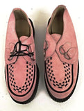 Creeper D-Ring Pink Suede  IN STOCK NOW size 5