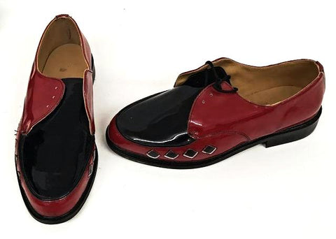 B Gibson Black / Red Patent Diamond - IN STOCK NOW size 7 ½