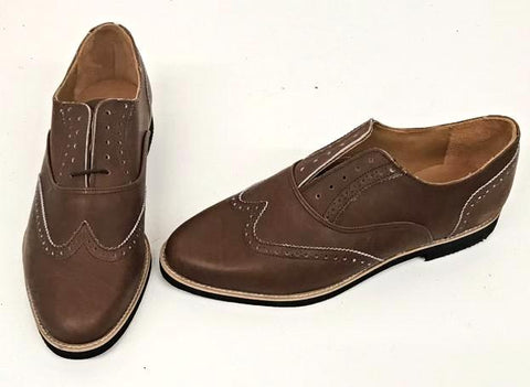 A Brogue - Brown Black EVA - IN STOCK NOW size 9
