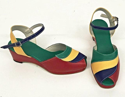Lauren Telephone Wedge Sandals - IN STOCK NOW