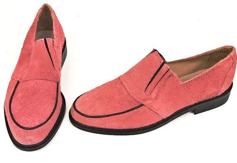 50s Slip On Salmon Suede IN STOCK ONLY size 8