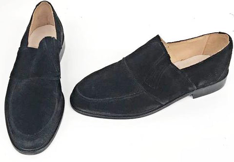 50s Slip On Black Suede IN STOCK ONLY size 10