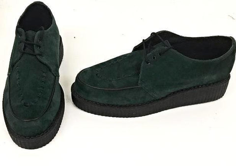 Creeper Green Suede Lace IN STOCK NOW size 10