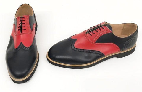 A Brogue Black/Red Black EVA sole- IN STOCK NOW size 13