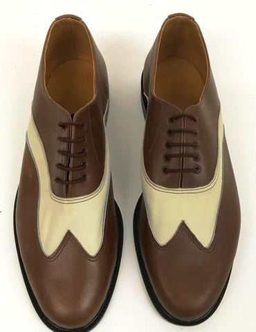 Saddle Cream/Brown Leather - ORDER ONLY