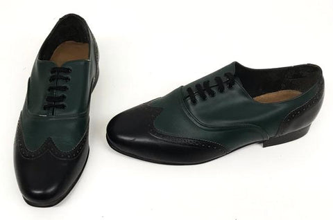 G Brogue Black/Green IN STOCK ONLY size 8