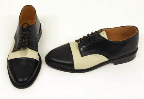 Oxford Black/Cream Leather  IN STOCK NOW