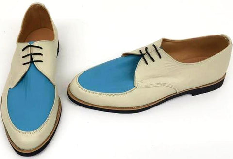 B Gibson Cream / Turquoise Black EVA sole IN STOCK NOW size 10½