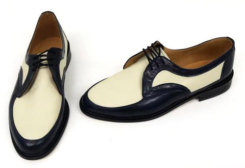 D  Gibson Navy/Cream   STOCK ONLY size 10