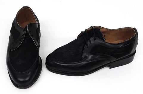 B Gibson Black/Hair  - IN STOCK NOW size 3