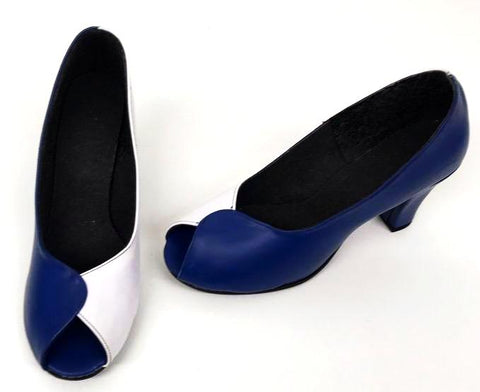 Cleo Full Shoe Royal Blue/White  IN STOCK ONLY size 7