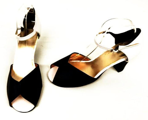 Cleo Black/White  IN STOCK ONLY size 7