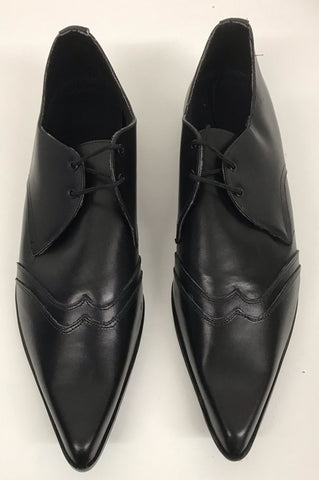 Winkle Black Leather Double Tip  IN STOCK ONLY  size 12 END OF LINE
