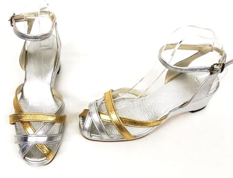 Jean Wedge Sandals Glitz - IN STOCK NOW