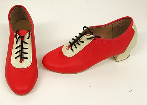 Lindy Red/Cream  IN STOCK NOW