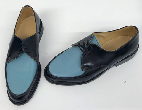 B Gibson Black/Duck Egg Blue IN STOCK NOW - size 8½