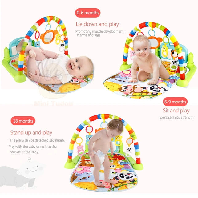 Musical Baby Play Gym