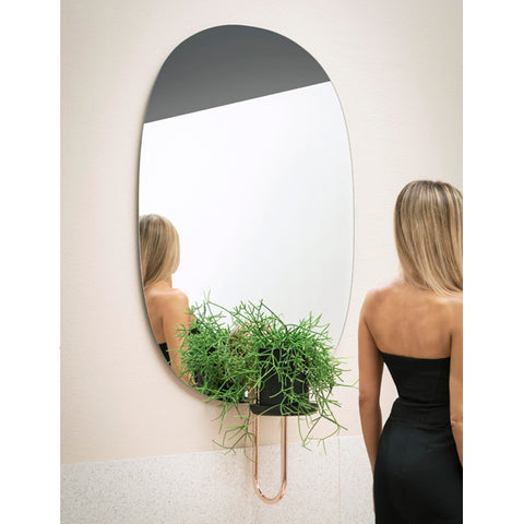 CIGALES PV04 | WALL FLOWER POT W/ MIRROR | MINIFORMS