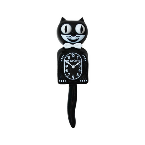 ORIGINAL | BLACK | KIT-CAT KLOCK