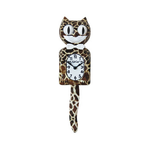 EXOTIC| GIRAFFE | KIT-CAT KLOCK