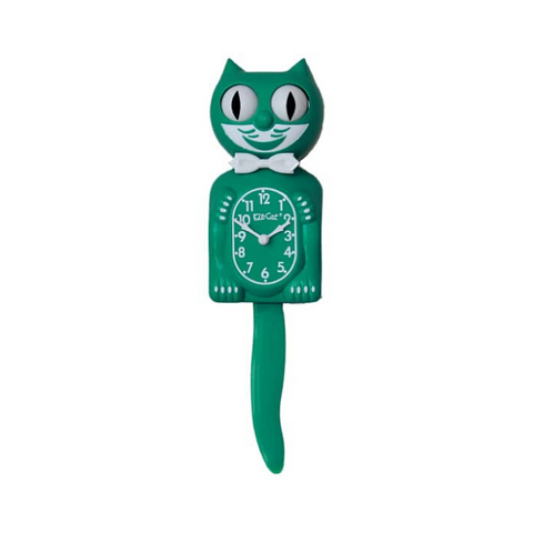 LIMITED EDITION | GREEN BEAUTY | KIT-CAT KLOCK