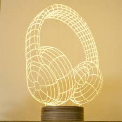 Headphones | Table Lamp | Finish Line