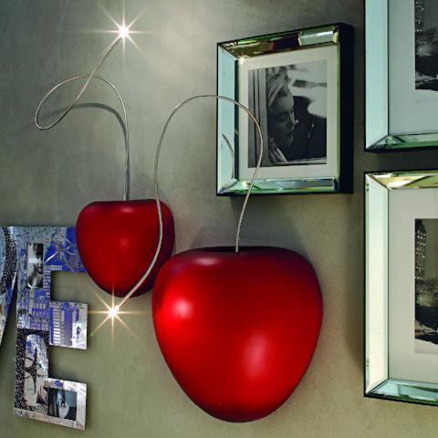 Cherry Lamp Lucciola | Wall decorative light | ADRIANI & ROSSI