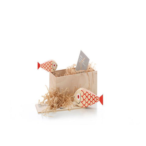 Wooden Doll | Mother fish and child | Vitra