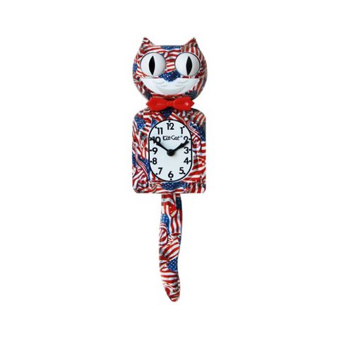 EXOTIC| PATRIOT | KIT-CAT KLOCK