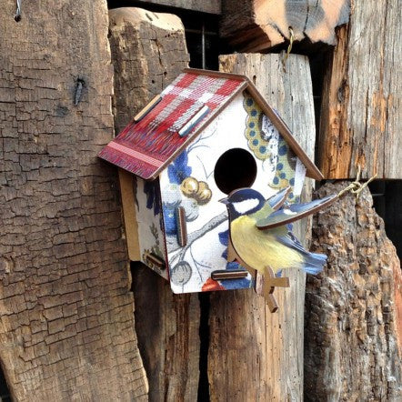 Poppy Seed | Decorative Birdhouse | MIHO