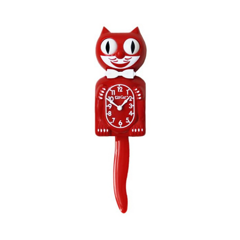 LIMITED EDITION | SCARLET RED | KIT-CAT KLOCK