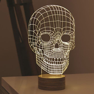 Skull| Table Lamp | Finish Line