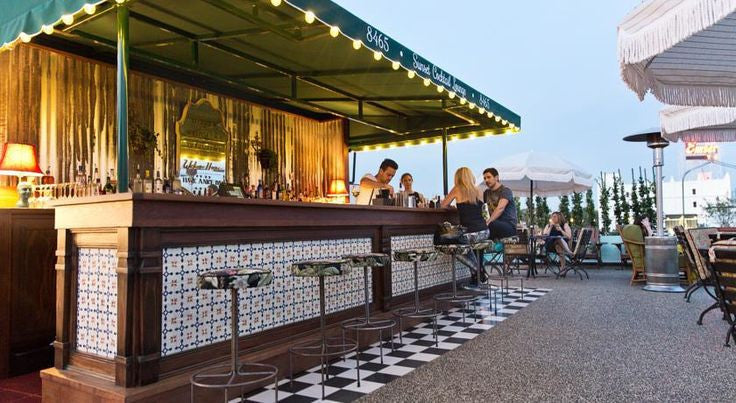 Amazing Palihouse Rooftop Bar