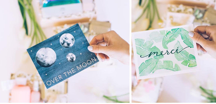 Personalized Notecards // BOXFOX