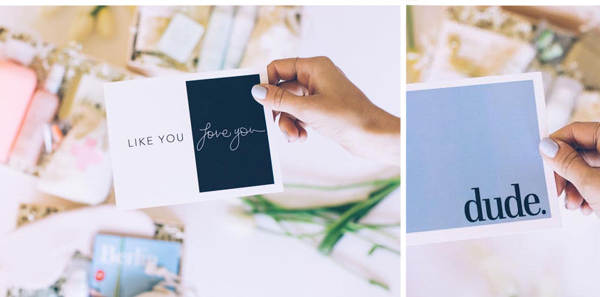 Fun Handwritten Note Cards // BOXFOX