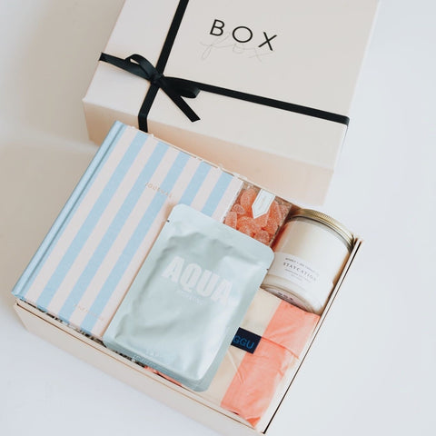 Cabana Gift Box, Summer Gift Box, Cabana BOXFOX, Cabana Gift BOX, gifts for girls, gifts for women, birthday gifts, Summer gifts