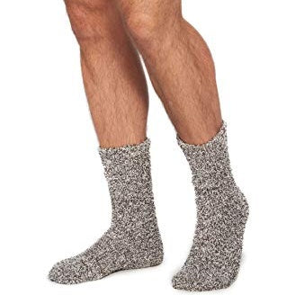 Men's Cozy Socks Charcoal