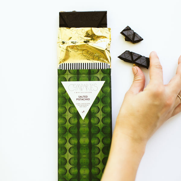 Salted Pistachio Chocolate Bar