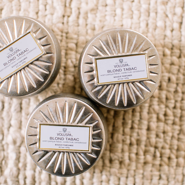 Mini Blond Tabac Candle