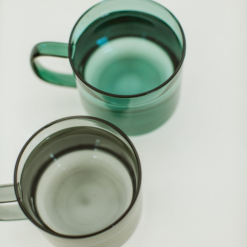 Malachite Glass Mug