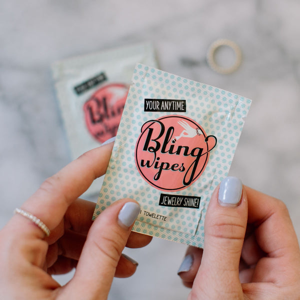 Set of Two Bling Wipes