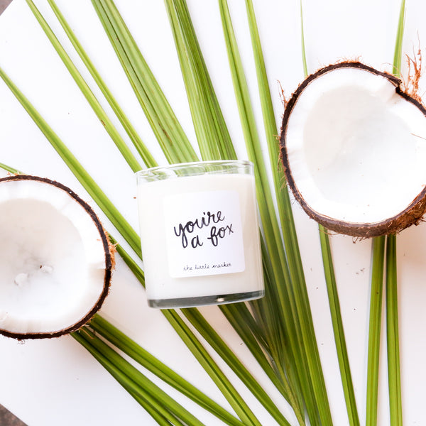 You're a Fox Coconut Milk Candle