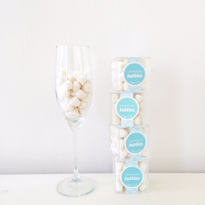 Sugarfina // Celebratory Champagne Bubbles on BUILD A BOXFOX