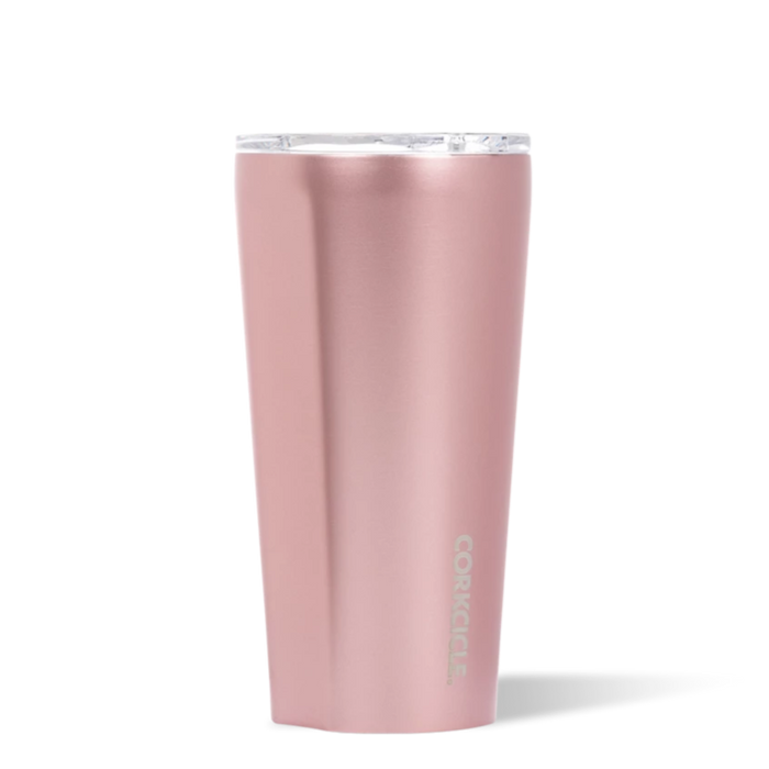 16 oz. Rose Metallic Tumbler