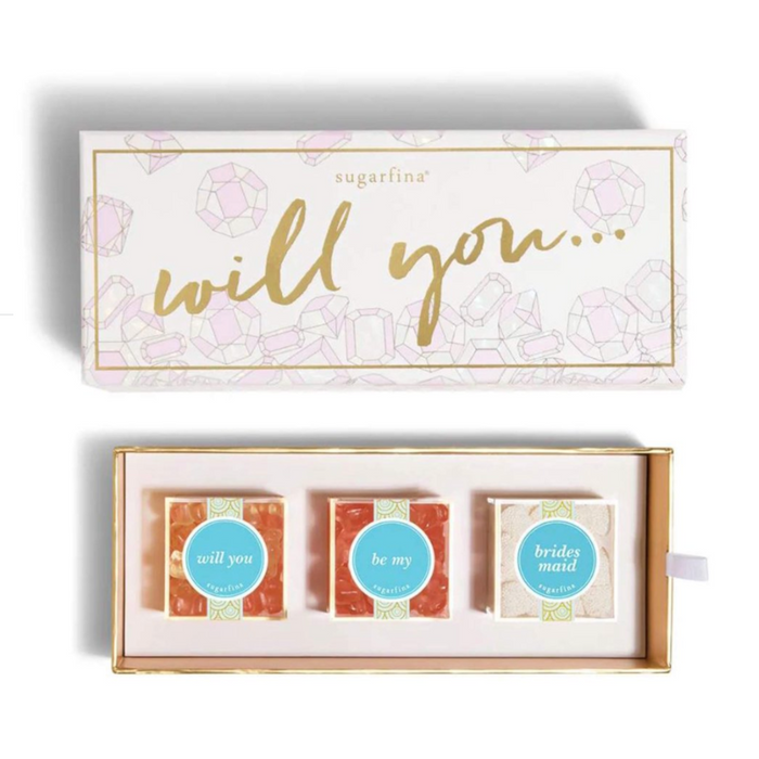 Will You Be My Bridesmaid Bento Box