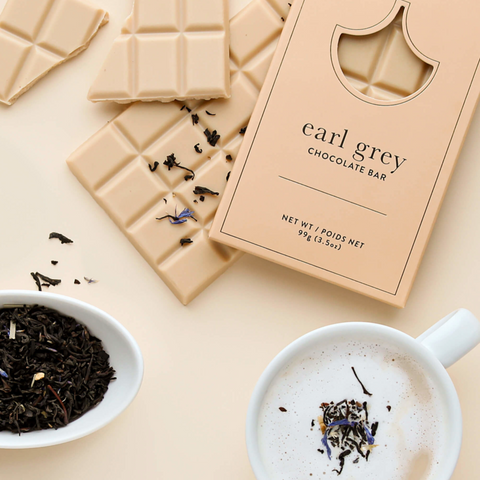 Earl Grey White Chocolate Bar