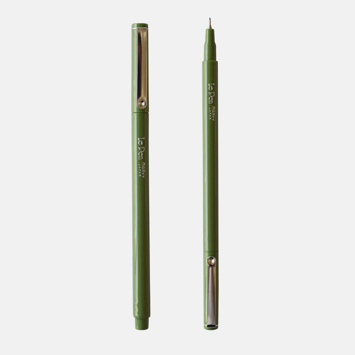 Two Olive Pens